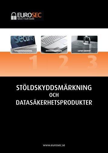 Eurosec AB - Security Marking