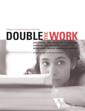Double the Work (PDF) - Carnegie Corporation of New York