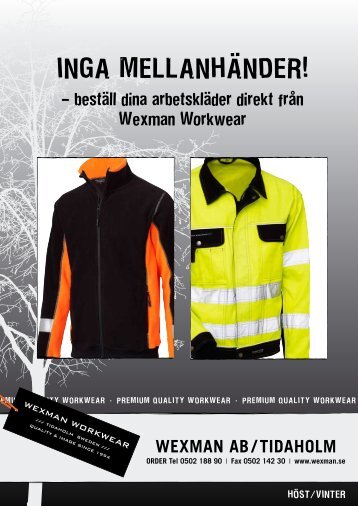 INGA MELLANHÄNDER! - Wexman AB