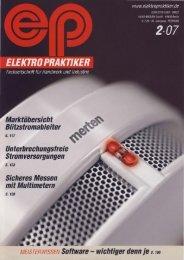 Elektro Praktiker, Ausgabe 02 / 2007 - Minis-systeme.com