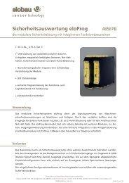 Produktinformation_485EP | Katalog / Produktinformation - Elobau