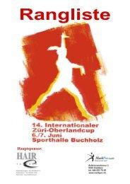 14. Züri - Oberland - Cup - Sportclub Satus Uster