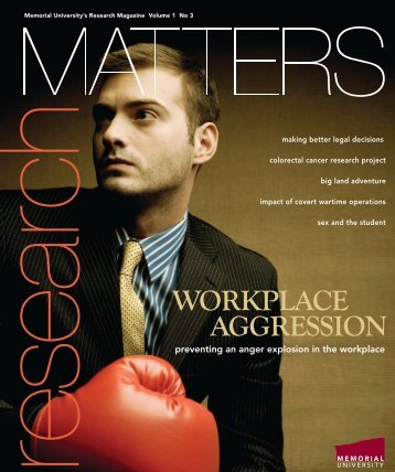 WORKPLACE AGGRESSION - Memorial University of Newfoundland