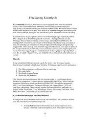 Föreläsning Kvantfysik - Laser Physics, KTH