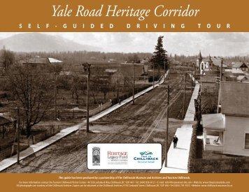 Yale Road Heritage Corridor - Tourism Chilliwack