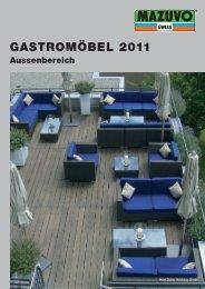 Mazuvo Gartenmöbel für Objekte und Restaurants - REICHMUTH ...