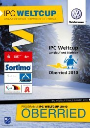 IPC Weltcup - Programmheft Download (PDF, ca ... - Skiclub Oberried