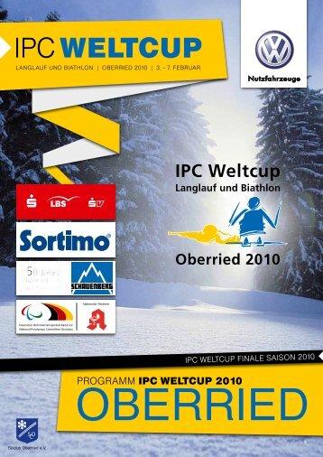 IPC Weltcup - Programmheft Download (PDF, ca ... - Skiclub Oberried