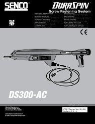 Screw Fastening System - Senco