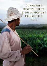 Current Newsletter Print Version - Dole Sustainability