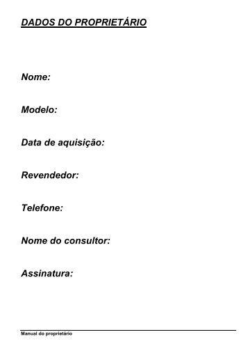 Manual linha PLUS - Brazil Electric