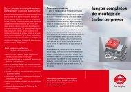 Juegos completos de montaje de turbocompresor - Elring
