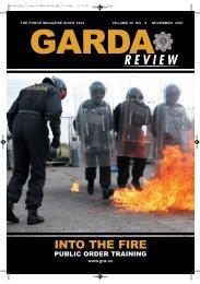 public order training - Garda Review
