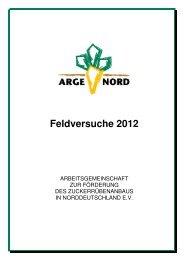 Feldversuche 2012 - Arge Nord