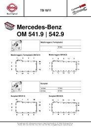 Mercedes-Benz OM 541.9 | 542.9 - Elring