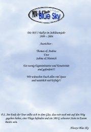Rallye 2004 Route-Book - MX-5 Club Blue Sky