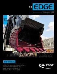 July 2010 - ESCO Corp.