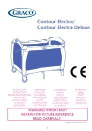 Contour Electra/ Contour Electra Deluxe - Graco Europe
