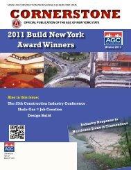 CORNERSTONE - The Associated General Contractors of New York ...