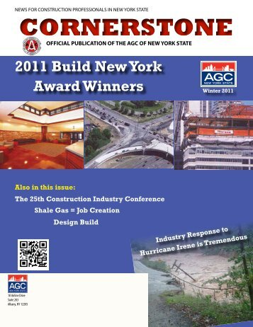 CORNERSTONE - The Associated General Contractors of New York ...