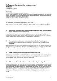 College 2011-01-31.pdf - Stad Sint-Niklaas
