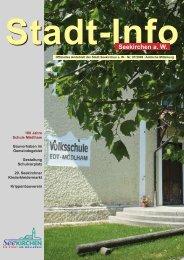 Stadt-Info 07/2009 - Seekirchen am Wallersee