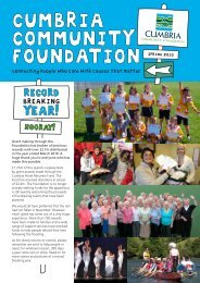Newsletter 2010 - Cumbria Community Foundation