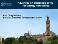 Advances on Thermoelectrics for Energy ... - (NiPS) Laboratory