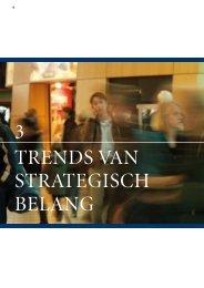 3 trends van strategisch belang - Ministerie van Verkeer en Waterstaat