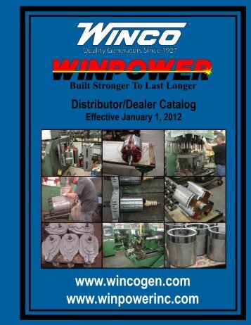 Catalog - Winco Generators