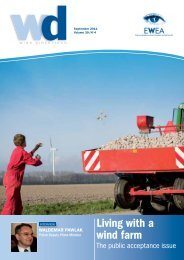 Living with a wind farm - European Wind Energy Association