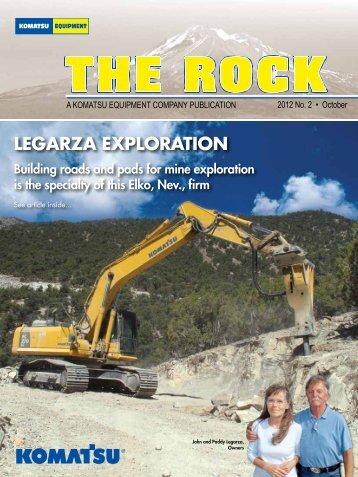 LEGARZA EXPLORATION - KEC The Rock Magazine