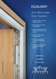 DUALWAY™ Anti-Barricade Door System - Cooke Brothers