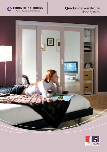 Quickslide wardrobe door system - Door Hardware Sydney