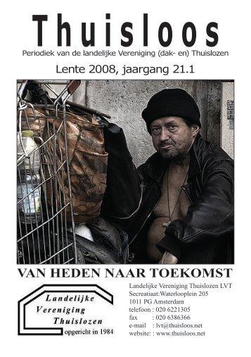 VAN HEDEN NAAR TOEKOMST - Landelijke Vereniging Thuislozen