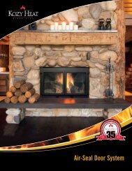 Air-Seal Door System - Kozy Heat Fireplaces
