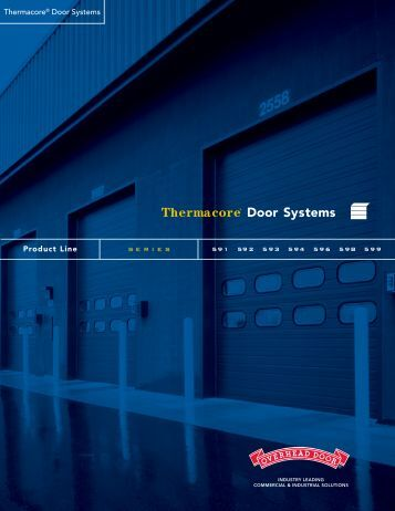 Thermacore® Door Systems Brochure - Reed Construction Data