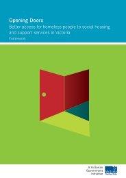 Opening Doors – Framework - ACSO