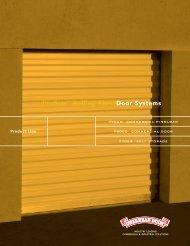 ProStar™ Rolling SheetDoor Systems - Overhead Door