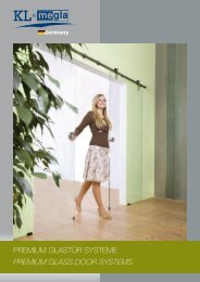 PREMIUM GLASTÜR SYSTEME PREMIUM GLASS DOOR SYSTEMS