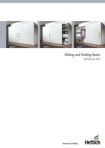 Catalogue Sliding and Folding Doors - Hettich