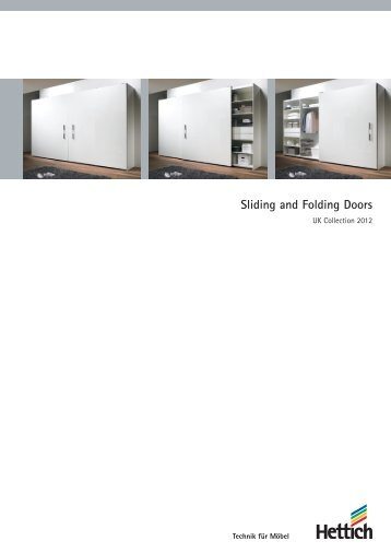 Catalogue Sliding and Folding Doors - Hettich