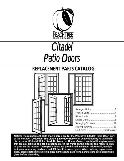 Citadel Patio Peachtree Doors And Windows