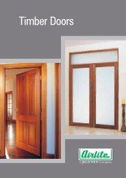 Timber Doors - Airlite