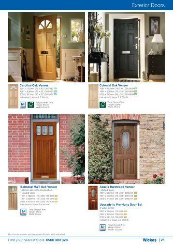 Exterior Doors - Wickes