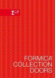 portada doors - Formica