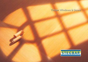 Timber Windows & Doors - Stegbar Australia