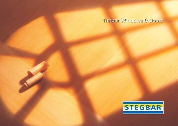 Timber Windows & Doors - Stegbar Australia