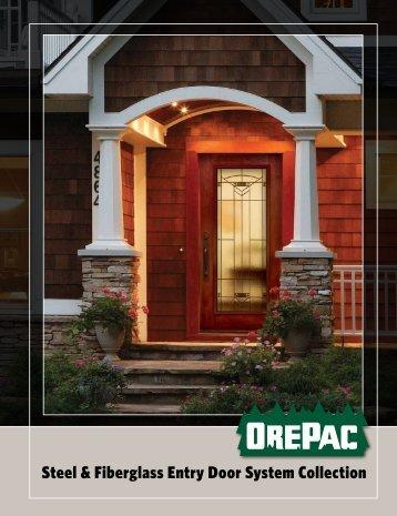 Fiberglass And Steel Exterior Doors Entry Point Door Transformations
