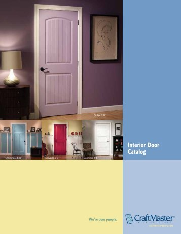 Interior Door Catalog - CraftMaster Interior Doors